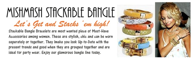 mish mash stackable bangle